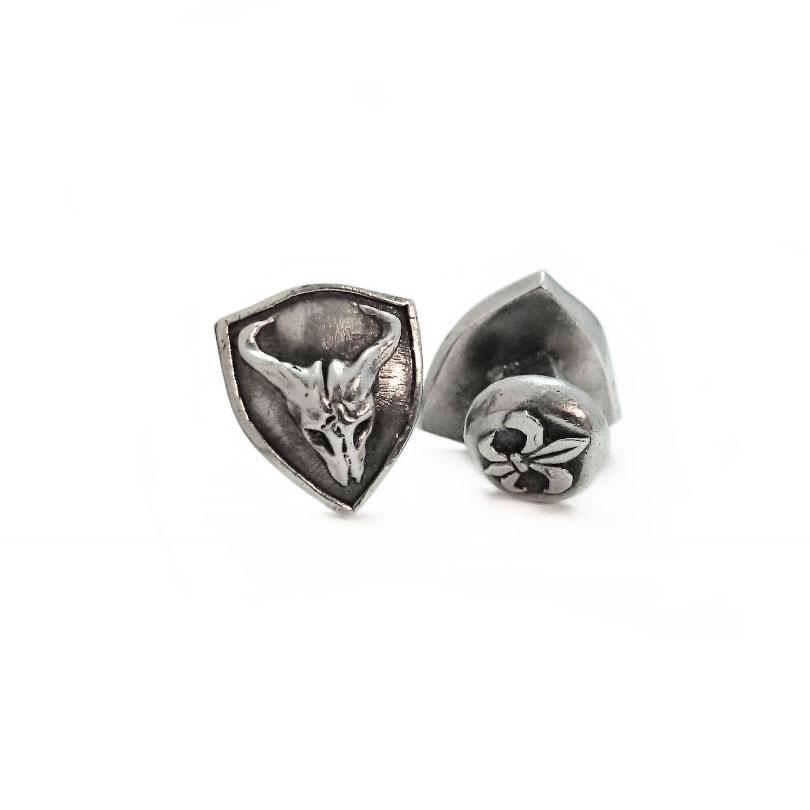 Nox Shield Cufflinks